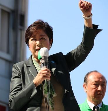 希望の党の小池百合子代表