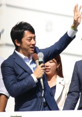 自民党の小泉進次郎氏