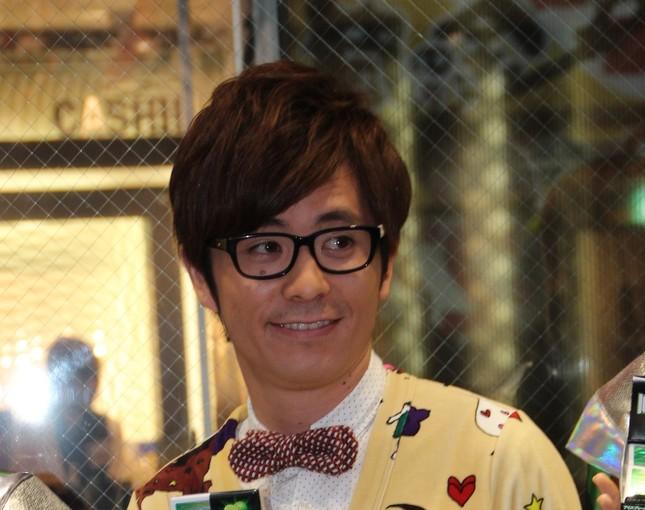 オリエンタルラジオの藤森慎吾さん(2012年11月撮影)