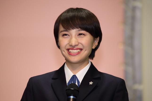 ももいろクローバーZの百田夏菜子さん(2015年3月撮影)