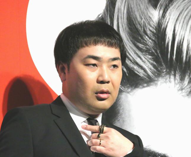 岩尾望さん(写真は、2017年1月撮影)