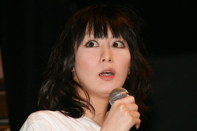 鳥居みゆきさん(2008年2月撮影)