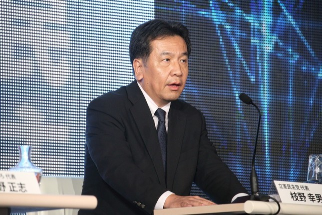 枝野幸男代表率いる立憲民主党の「野党第1党」あるのか