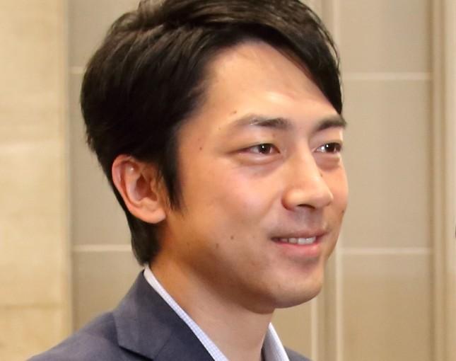 小泉進次郎氏(2017年4月撮影)