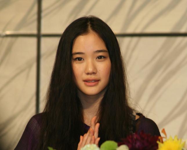 蒼井優さん(写真は、2008年撮影)