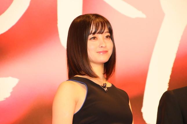 東京国際映画祭のアンバサダーとして登場した橋本環奈さん