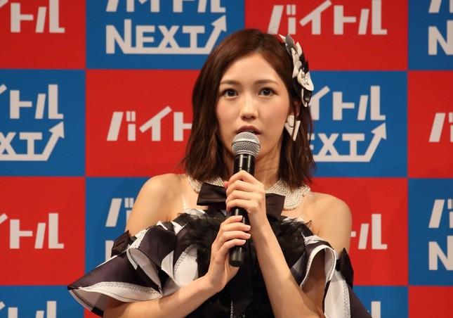 渡辺麻友さん(2016年10月撮影)
