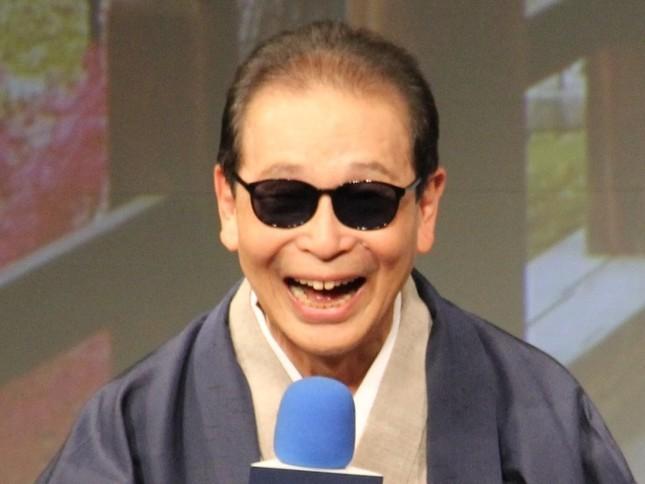 「知名度日本一」に輝いたのはタモリさんだった(2015年9月撮影)