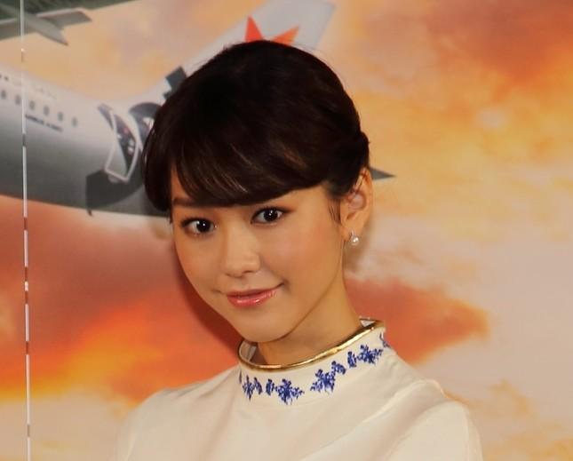 桐谷美玲さん(2014年12月撮影)