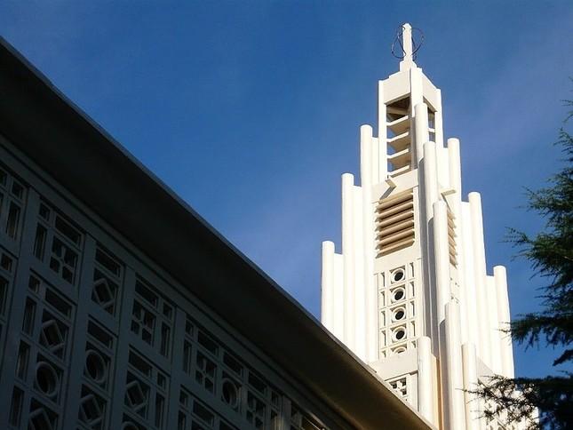 東京女子大学のチャペル(wikimedea commonsより、sgicoさん撮影)