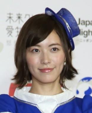 松井珠理奈さん(2017年10月撮影)