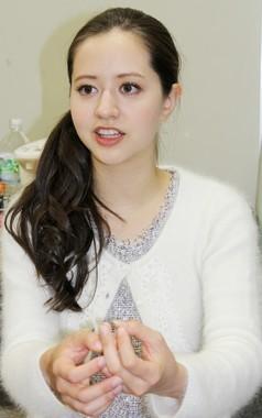 春香クリスティーンさん(写真は2012年12月撮影)