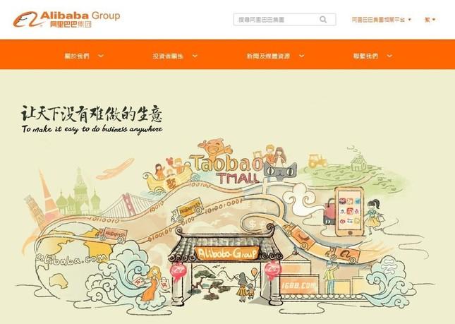 もはや中国にとどまらない国際ショッピングデーと化した「双11」(画像はアリババグループの公式ホームページ)