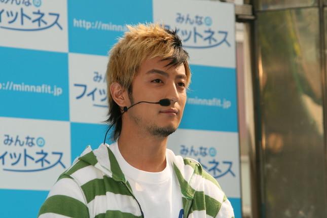 「羞恥心」として活躍していたころの上地雄輔さん(2008年撮影)