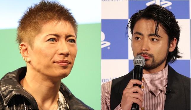 GACKTさん(写真左)と山田孝之さん(写真右)