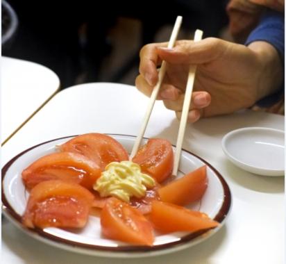 トマトの栄養を引き出す調味料はマヨネーズ