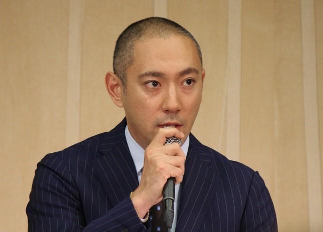 海老蔵さん、40歳に(J-CASTニュース撮影)