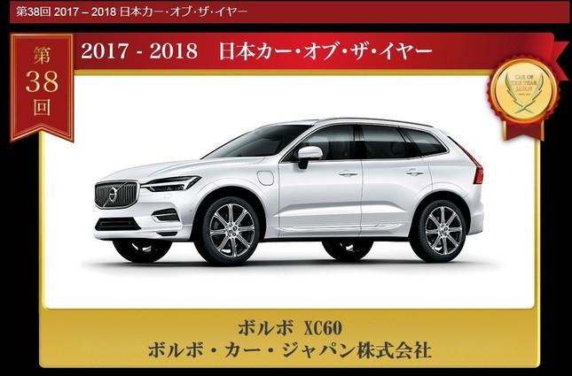 日本カー・オブ・ザ・イヤーに輝いた「ボルボ.XC60」(画像は日本カー・オブ・ザ・イヤーの公式ホームページより)