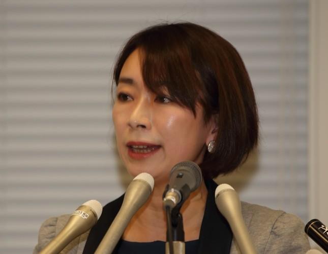 山尾志桜里衆院議員(2016年4月撮影)