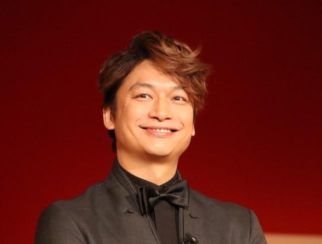 香取慎吾さん(2017年12月11日撮影)