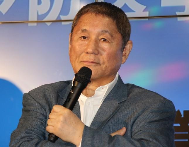 ビートたけしさん(2015年7月撮影)
