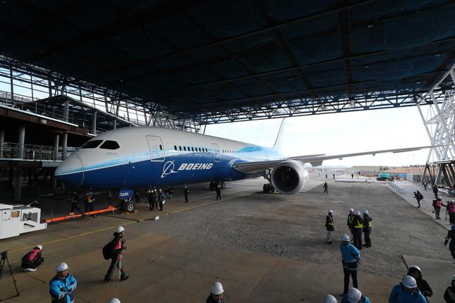 787が展示される商業施設「FLIGHT OF DREAMS」(フライト・オブ・ドリームズ)は2018年夏の開業予定だ