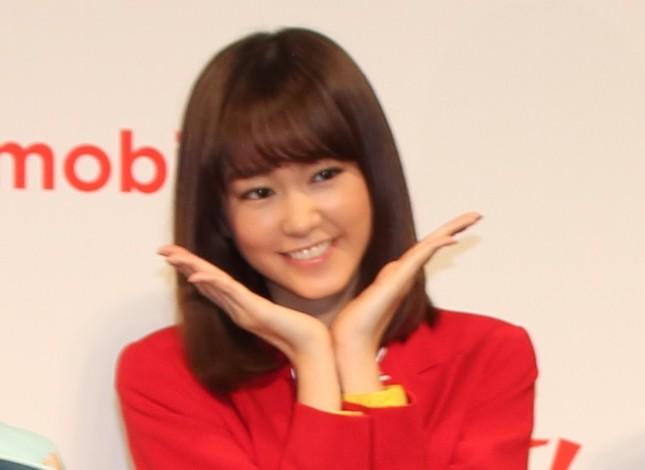 桐谷美玲さん(2017年11月撮影)