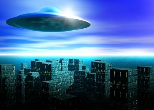 ラスベガスの飛行物体はUFO?(画像はイメージです)