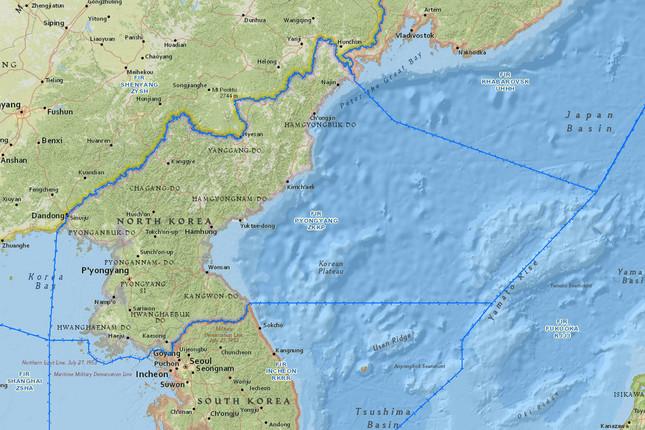 米国と韓国の路線は平壌FIRが最短ルートだが…