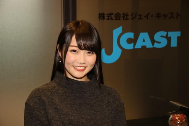 夏目愛海さん(2017年12月18日撮影)