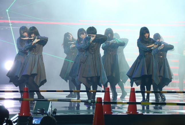 欅坂46(2017年12月29日の「紅白歌合戦」リハーサルで撮影)