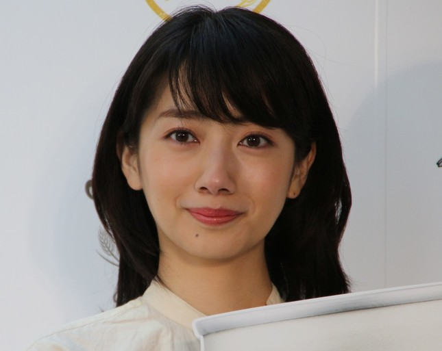 波瑠さん(2017年4月撮影)
