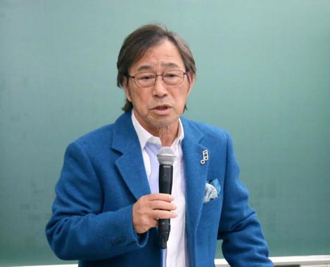 武田鉄矢さん(写真は2017年1月撮影)