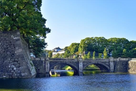 昭和天皇の病状に関する報道では、二重橋の映像がよく流れていた