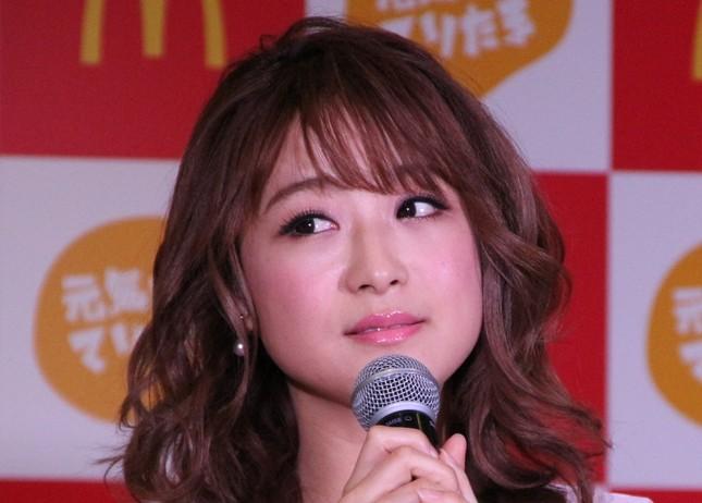 普段の鈴木奈々さん(2017年/J-CASTニュース編集部撮影)