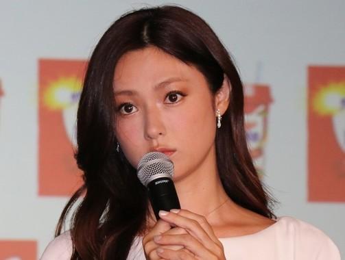 深田恭子さん(2015年4月撮影)