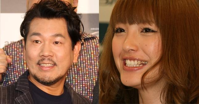 おしどり夫婦として知られる藤本敏史さん(左)と木下優樹菜さん(右)夫妻