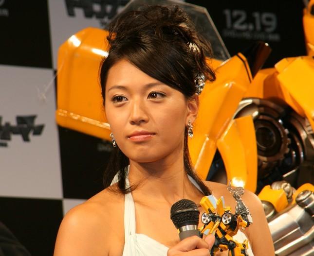 現役時代の浅尾美和さん(2007年撮影)