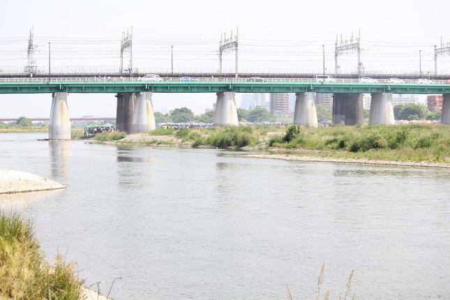 普段の多摩川