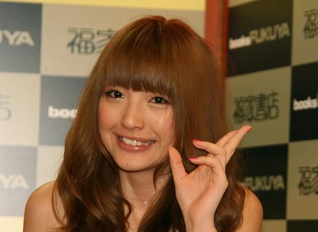 木下優樹菜さん(写真は2008年撮影)