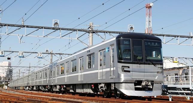 BGM機能を搭載している日比谷線の13000系(東京メトロ提供)