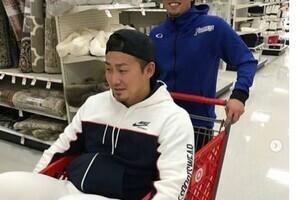 中田翔、インスタ早くも「炎上」 スーパーでカートに乗る悪ふざけ...批判受け削除
