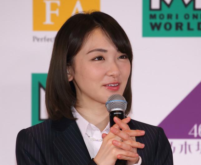 生駒里奈さん(写真は2017年3月撮影)