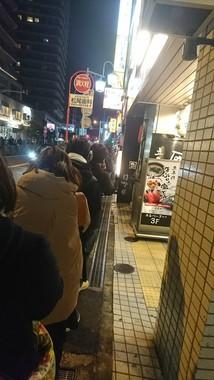 千葉県の本八幡駅近くの吉野家店舗前の様子。写真はるーと@Tiamat/Gaia(@root_tydk)さん提供。