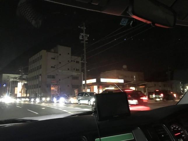 愛知県内での吉野家「入店待ち渋滞」の様子。写真はMiku(@hide_doubt_97)さん提供