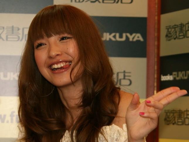 2008年当時の木下優樹菜さん(2008年3月撮影)