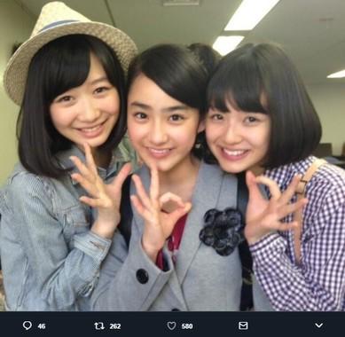「おはガールちゅ!ちゅ!ちゅ!」は2014年3月に卒業(画像は「おはガールちゅ!ちゅ!ちゅ!」公式ツイッターアカウントより)
