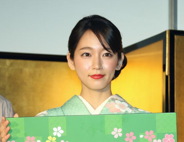 吉岡里帆さん(写真は2017年2月撮影)