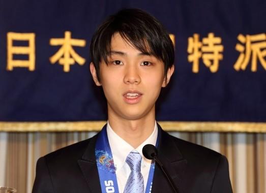羽生結弦選手がSP首位へ(2014年4月撮影)