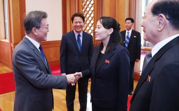 「ほほえみ外交」の影響なのか(写真は韓国大統領府のウェブサイトから)